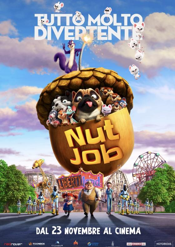 NUT JOB TUTTO MOLTO DIVERTENTE dal 23 novembre al cinema