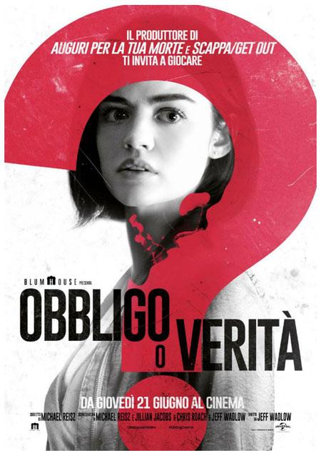 OBBLIGO O VERITA' dal 21 giugno al cinema