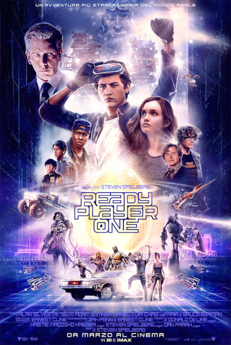 READY PLAYER ONE dal 28 marzo al cinema
