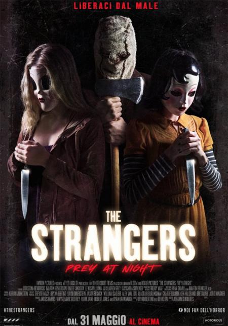 THE STRANGERS 2: PREY AT NIGHT dal 31 maggio al cinema