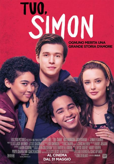 TUO, SIMON dal 31 maggio al cinema