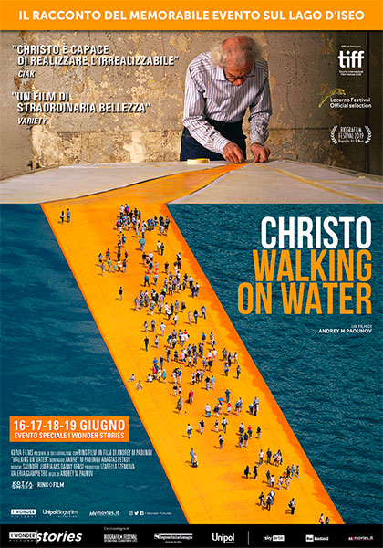 Christo - Walking On Water a vicenza