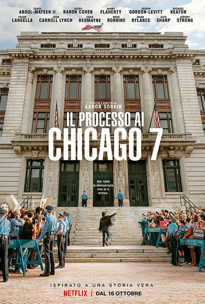 Il processo ai Chicago 7 a palermo