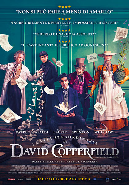 La vita straordinaria di David Copperfield a sassari