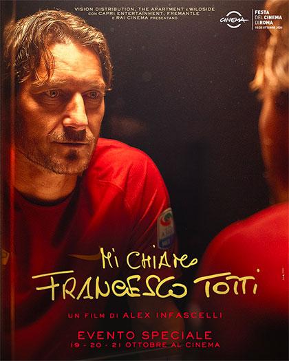 Mi chiamo Francesco Totti a roma