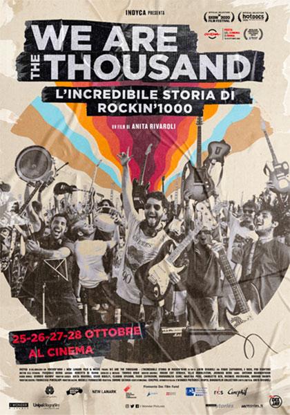 We Are the Thousand - L Incredibile storia di Rockin 1000 a bologna