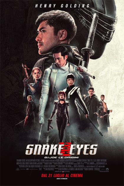 Snake Eyes: G.I. Joe Le Origini a bergamo