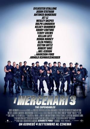 I Mercenari 3 dal 4 settembre al cinema