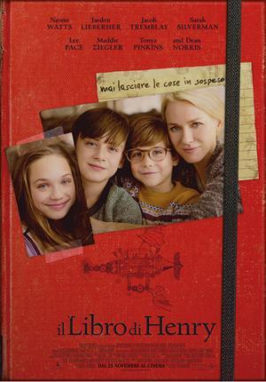 IL LIBRO DI HENRY dal 23 novembre al cinema