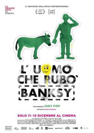 L'UOMO CHE RUBO' BANKSY dall 11 dicembre al cinema