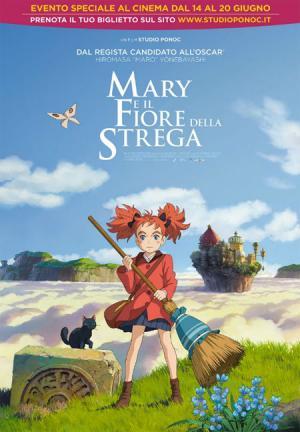 MARY E IL FIORE DELLA STREGA dal 14 giugno al cinema