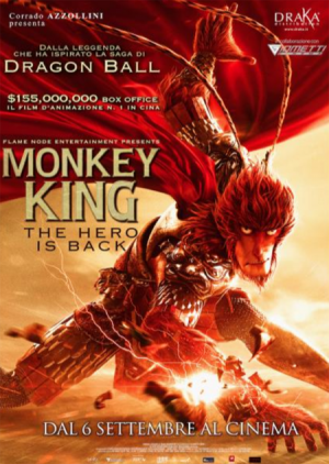 MONKEY KING -THE HIRO IS BACK dal 6 settembre al cinema