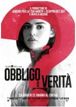 prossimamente al cinema OBBLIGO O VERITA  dal 21 giugno al cinema