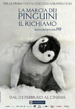 LA MARCIA DEI PINGUINI Il RICHIAMO dal 23 febbraio al cinema