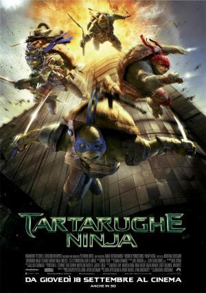Tartarughe Ninja dal 18 settembre al cinema
