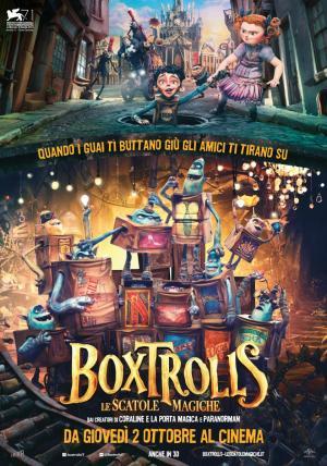 Boxtrolls - Le Scatole Magiche dal 2 ottobre al cinema