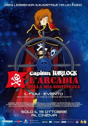 Capitan Harlock - L Arcadia della mia Giovinezza il 15 ottobre al cinema