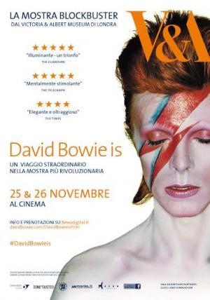 DAVID BOWIE IS sul grande schermo il 25 e 26 novembre