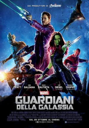 Guardiani della galassia dal 22 ottobre al cinema