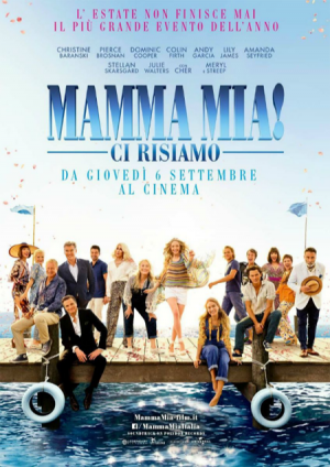 MAMMA MIA! CI RISIAMO dal 6 settembre al cinema